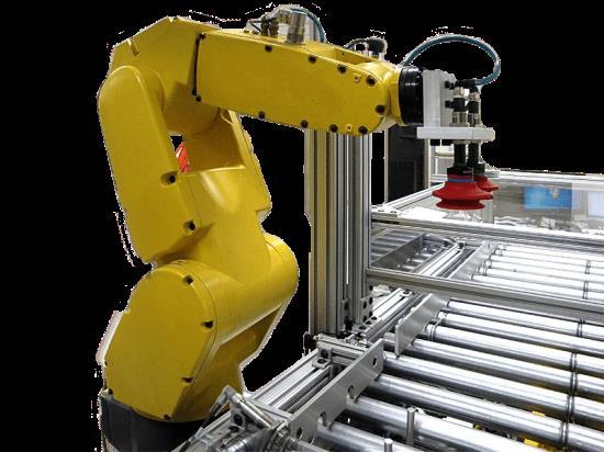 Plně automatizovaná robotická pracoviště