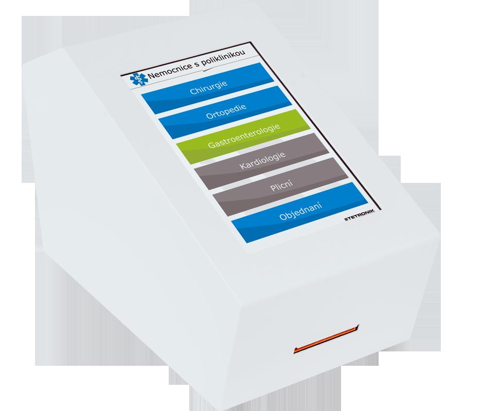 Výdejna lístků vyvolávacího systému QVL 104-21