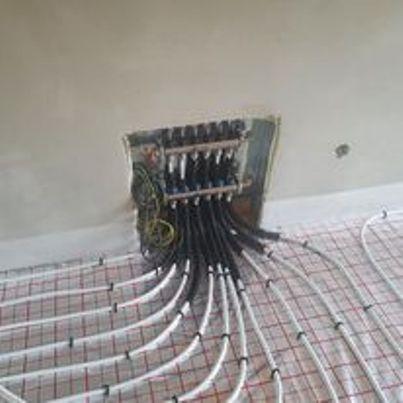Pokládka podlahového topení - PK INSTALACE s.r.o.