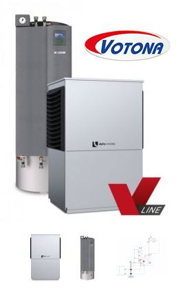 Tepelné čerpadlo vzduch-voda od firmy VOTONA