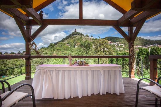 Svatební den v Hotelu Roubenka
