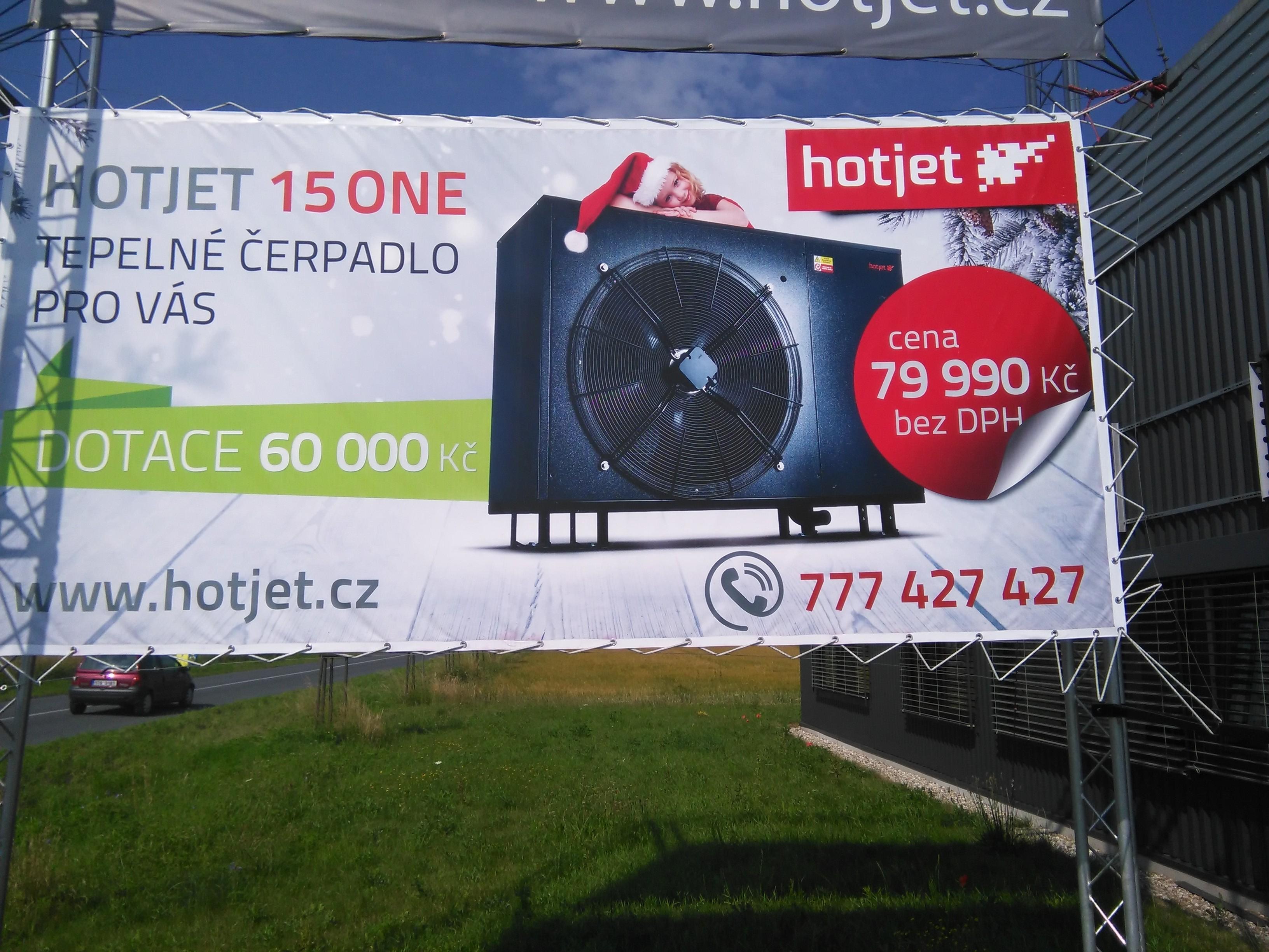 Reklamní banner eco, ŽÍDEK tisk s.r.o.