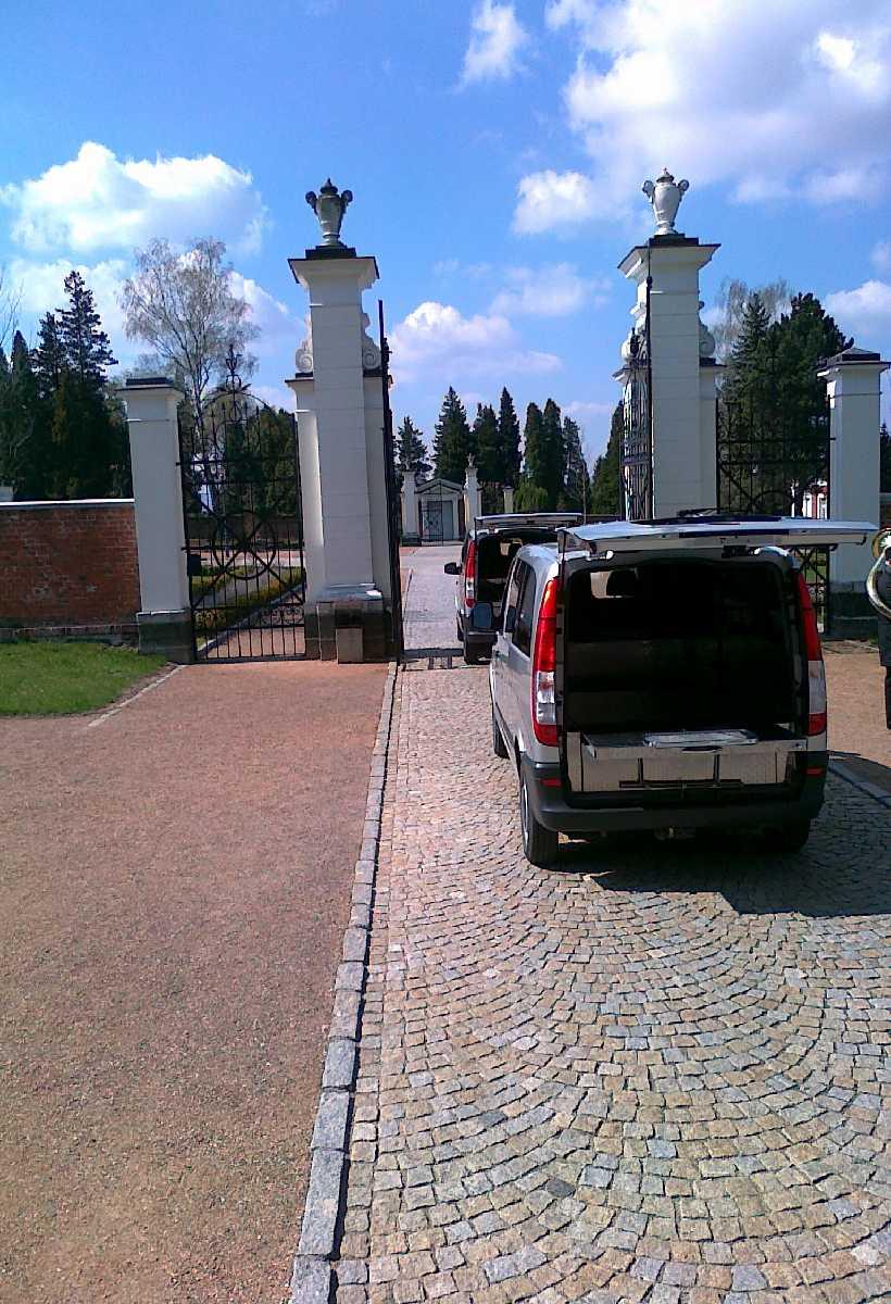 Přeprava ke hřbitovu, Marie - pohřební služba Opava