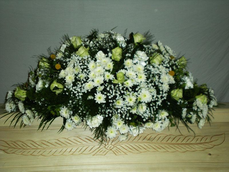 Pohřební kytice, Marie - pohřební služba Opava
