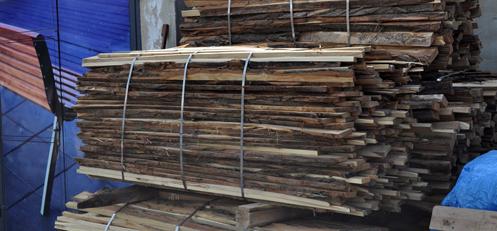 Odpadové dřevo - odkory, odřezky dřeva prodává společnost Wood Cité, s.r.o.