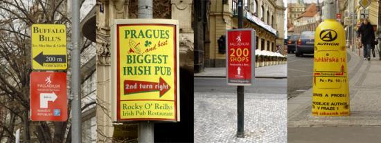 Oslovte více potencionálních zákazníků díky reklamním poutačům, které nabízí společnost PUBLICITARIA Praha, spol. s r.o.