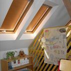Střešní interiérová žaluzie, ISOTRA a.s. Opava