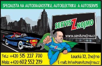 Profesionální pneuservis, Pneu a auto servis Znojmo