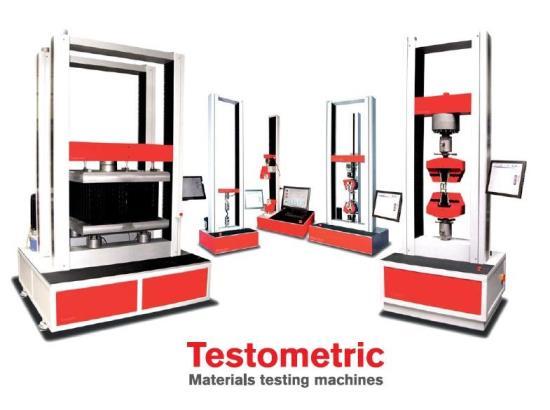 Zkušební stroje Testometric,  Labormachine s.r.o.