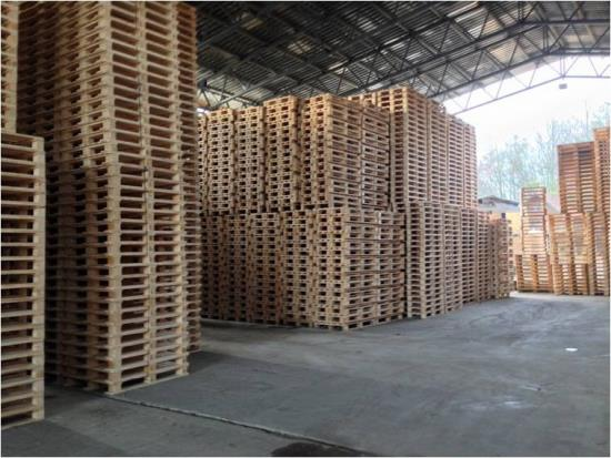 Výrobu dřevěných europalet zajišťuje společnost Pila Benda s.r.o.