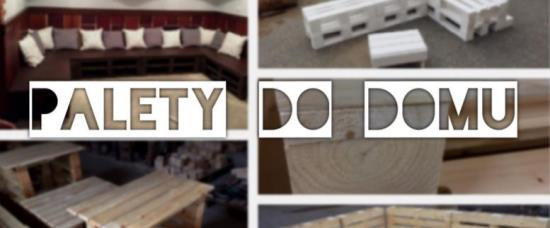 Výrobou nábytku z palet na míru se zabývá společnost Pila Benda s.r.o.