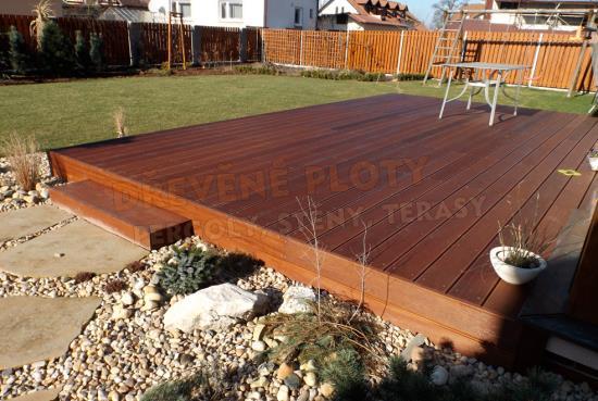 Výroba dřevěných teras