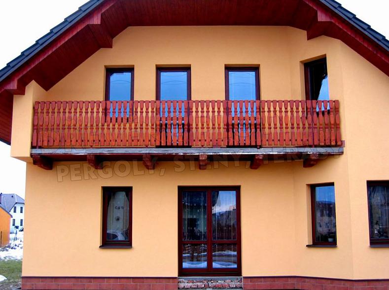 Dodávka dřevěných balkónů