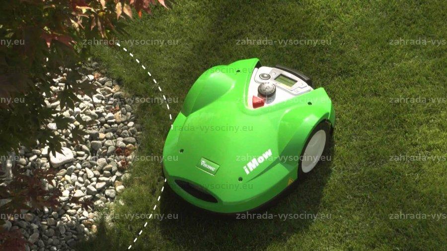 Inteligentní robotická sekačka od společnosti Zahrada Vysočiny udělá veškerou práci za Vás!