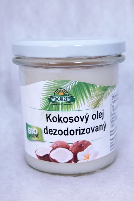 Bio kokosový olej, e-shop TOP VITAL