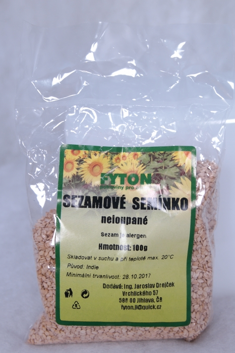 Sezamová semínka, zdravá výživa,  e-shop TOP VITAL