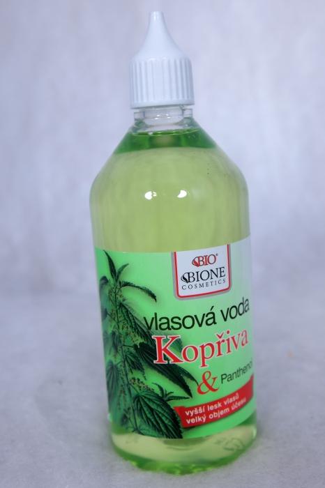 Bio vlasová masážní voda, e-shop TOP VITAL