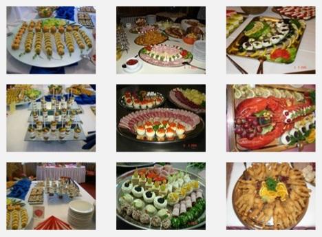 Restaurace Vesna, cateringový servis a rauty