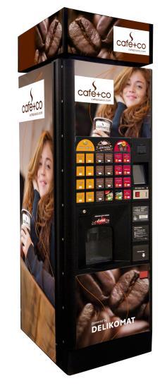 Delikomat automat na kávu a teplé nápoje