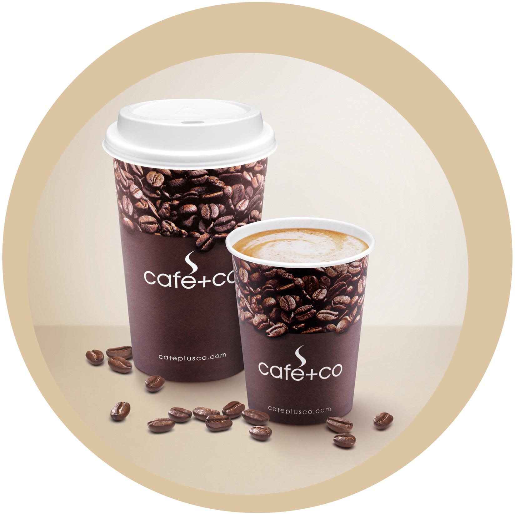 Káva do velkého kelímku TO GO