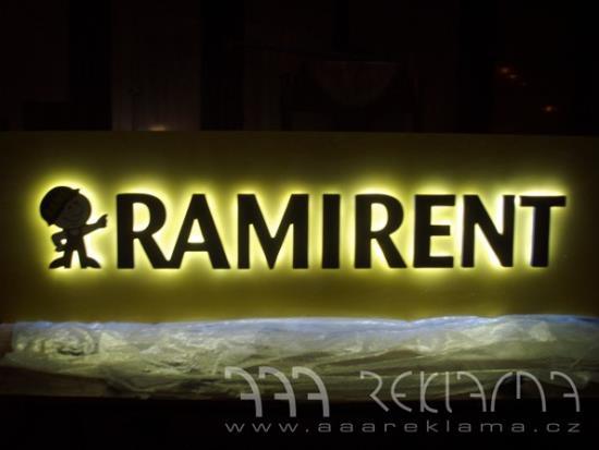 Světelná reklama od AAA REKLAMA