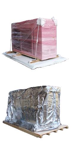 Balení do antistatické či bariérové hliníkové fólie