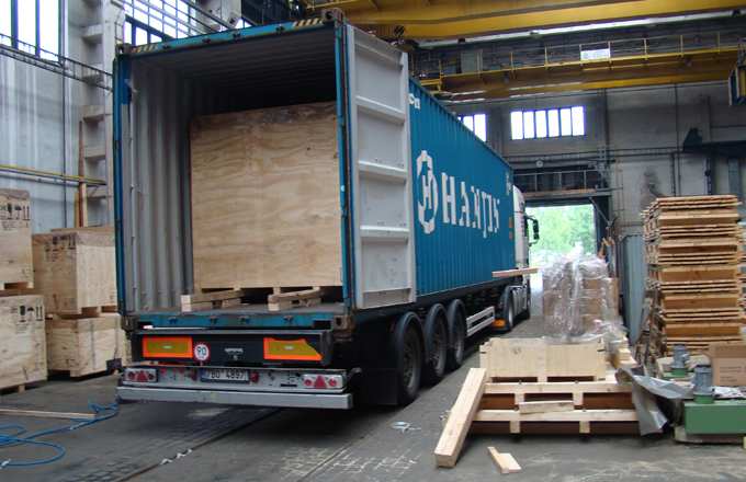 SANDER SUPPORT LOGISTICS - balení i kontejnerizace