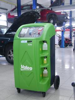 Plnička klimatizací Valeo Climfill A50