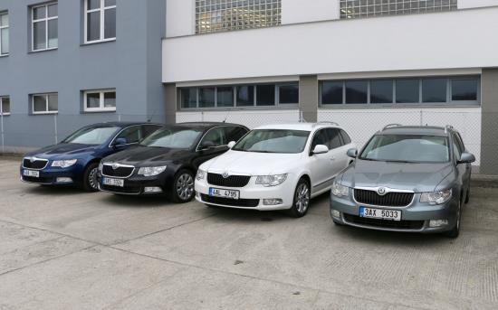 Autop�j�ovna Dan��ek, n�hradn� vozidla �koda a Volkswagen