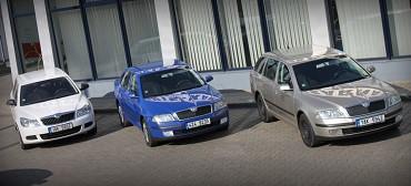 Náhradní vozidla Škoda Octavia
