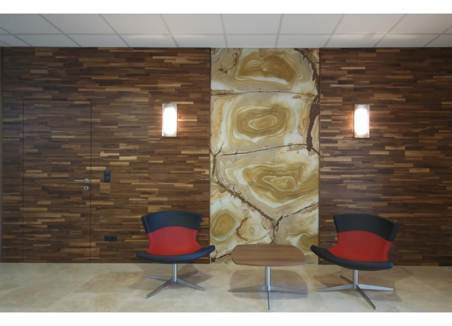 Stěna desky Stepwood ®, FK dřevěné lišty spol. s r.o.