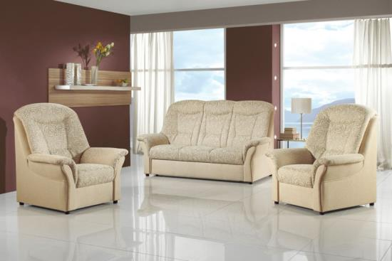 Čalouněná sedací souprava, Nábytek Pohodlí, Vysočina