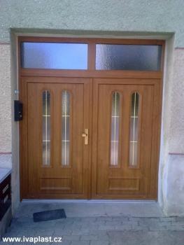 Plastové vchodové dveře, IVAPLAST s.r.o. Ivančice