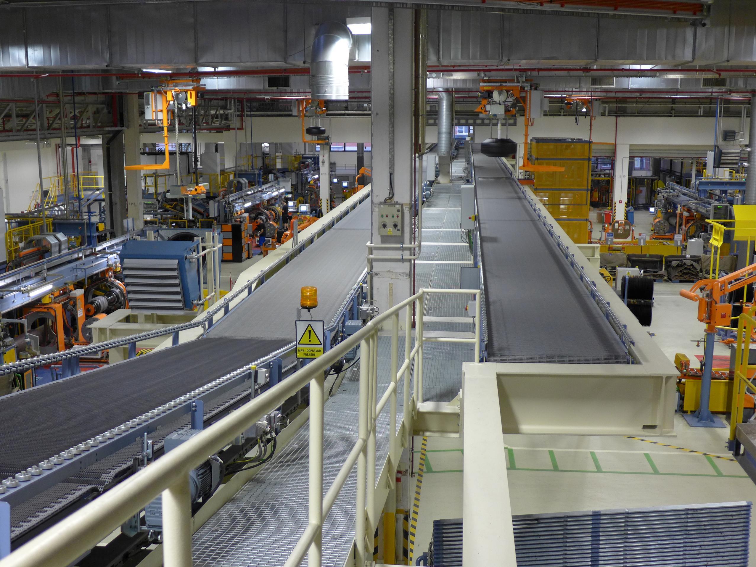 Montáž transportního systému pro společnost Siemens
