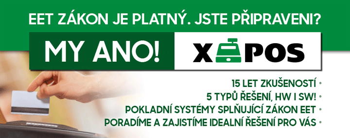 Pokladní systémy pro EET X-POS, M-SOFT, spol. s r.o. Jihlava