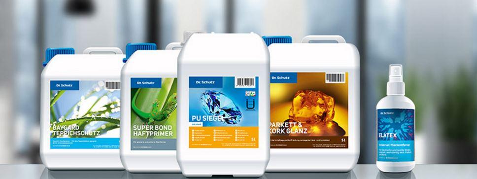 Společnost Dema-servis využívá produktovou řadu Dr. Schutz pro péči o elastické podlahoviny