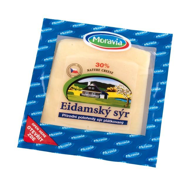 Plátkový sýr Eidam, JIMA - SPOL, s.r.o., Znojmo