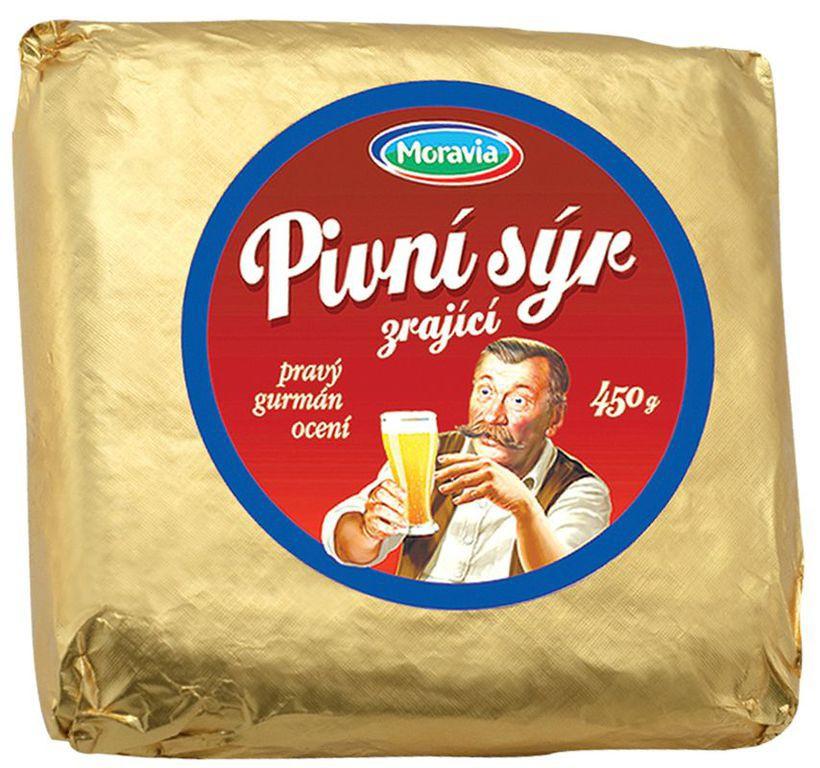 Pivní sýr, VO mléčné výrobky, JIMA - SPOL, s.r.o., Znojmo