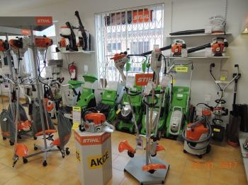 Křovinořezy, vyžínače STIHL - prodej a servis zahradní techniky