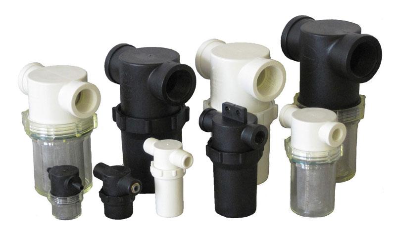 Sací hydraulické filtry pro montáž do hydraulického okruhu