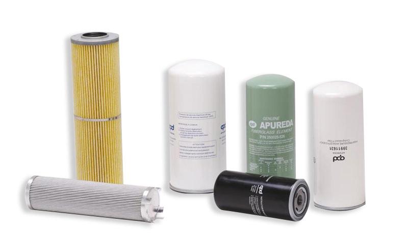 Olejové filtry pro čištění oleje v mechanizaci