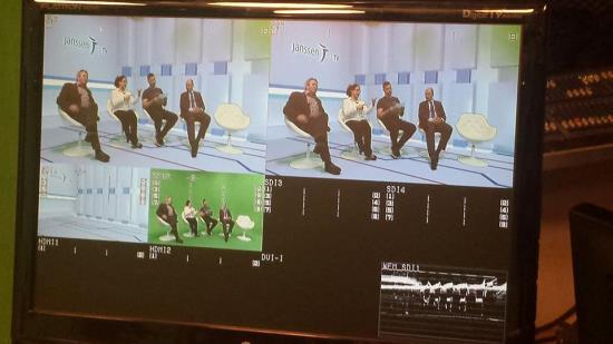 Klíčovací studio pro natáčení s virtuálním pozadím, Praha