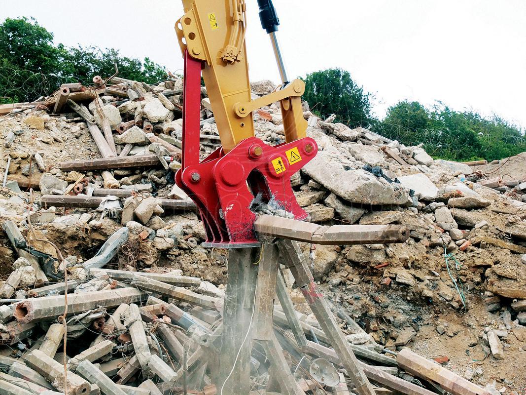 Mechanický drtič - příslušenství pro demolice a recyklace - RENOMAG