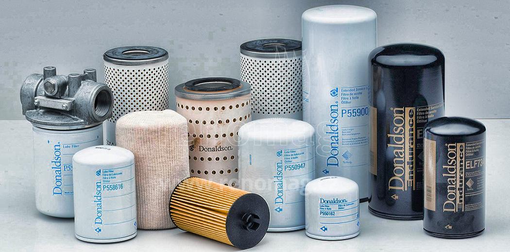 Filtry pro stavební techniku od renomovaných výrobců Donaldson, Fleetguard