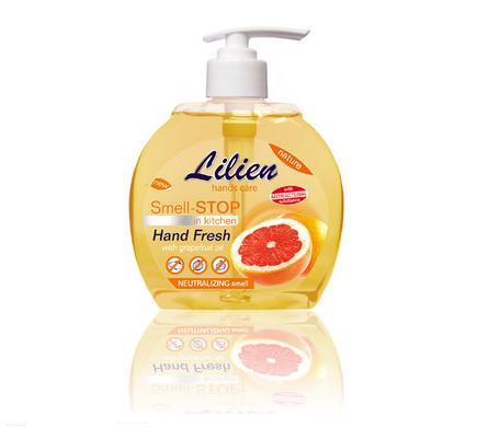Tekutá mýdla na ruce v balení s dávkovačem či jako náhradní náplň