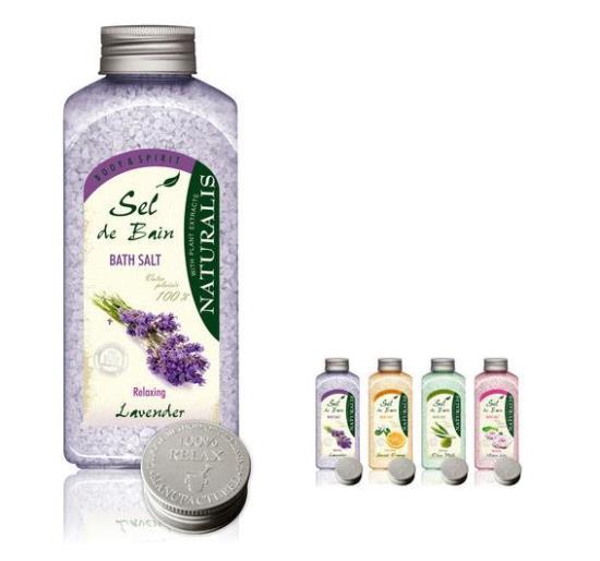 Koupelové soli Naturalis pro uvolnění těla i mysli