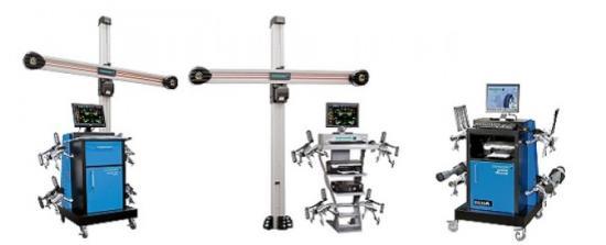 MITERAL - výběr přístrojů a zařízení pro měření geometrie vozidel