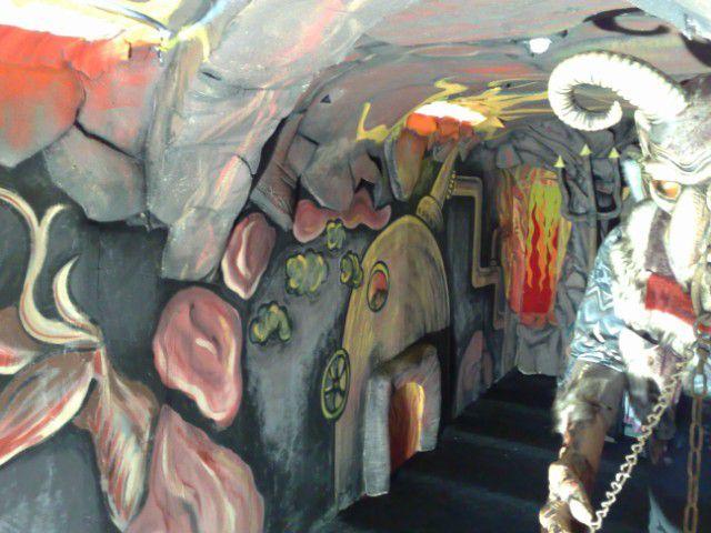 Dekorace interiérů - zábavní centrum pro děti