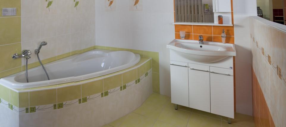 Kvalitní a elegantní koupelna od Stavební firmy OSP spol. s r.o., Znojmo