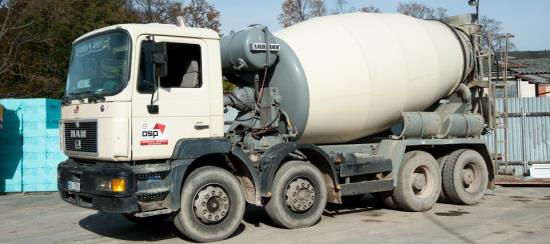 Dovoz betonu až na Vaši stavbu